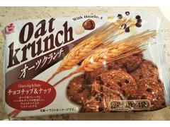 ハッピーポケット オーツクランチ チョコチップ&ナッツ 袋3枚×4