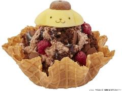 コールド・ストーン・クリーマリー ポムポムプリンのチョコレートヤミーベリー帽