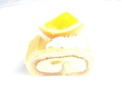 ガトー・ド・ボワイヤージュ オレンジのロールケーキ
