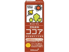 キッコーマン 豆乳飲料 ココア パック200ml