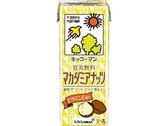 キッコーマン 豆乳飲料 マカダミアナッツ