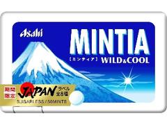 アサヒ ミンティア ワイルド&クール JAPANパッケージ ケース50粒