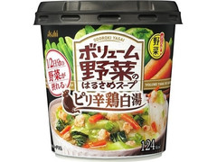 アサヒ おどろき野菜 ボリューム野菜のはるさめスープ ピリ辛鶏白湯