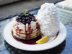 Eggs 'n Things ブルーベリーレアチーズパンケーキ