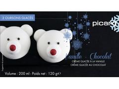 Picard シロクマのアイス チョコレートとバニラ