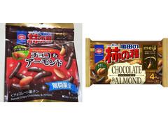 亀田製菓 亀田の柿の種 チョコ&アーモンド