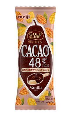 明治 GOLD LINE CACAO48% バニラ