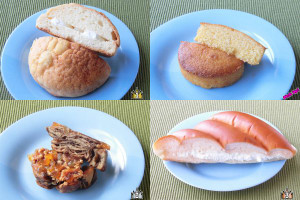 3位:ファミリーマート「ちぎれる三角サンド(練乳ミルク)」、2位:ローソン「オレンジとナッツのショコラクロッカン」、ピックアップ:ローソン「つぶつぶコーングリッツのケーキ」、1位:ローソン「塩バターメロンパン ホイップクリーム」