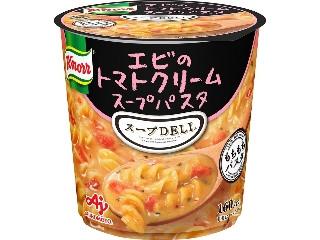 スープDELI エビのトマトクリームスープパスタ