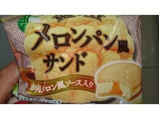 メロンパン風サンド