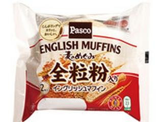 Pasco 麦のめぐみ 全粒粉入りイングリッシュマフィン 袋2個