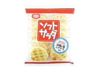 亀田製菓 ソフトサラダ 袋20枚