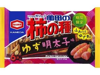 亀田の柿の種 ゆず明太子味