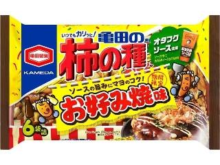 亀田の柿の種 お好み焼味