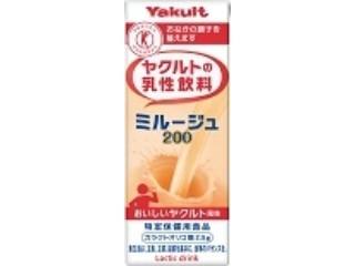 ヤクルトの乳性飲料 ミルージュ200