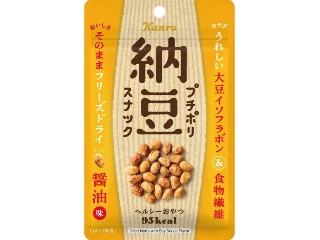 プチポリ納豆スナック 醤油味
