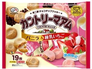 カントリーマアム バニラ&練乳いちご