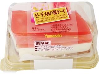 ピーチメルバ風ケーキ