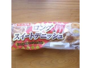 ヤマザキ ロングスイートデニッシュ アップル&カスタード