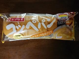 ヤマザキ コッペパンカスタード&ホイップさがみっこ