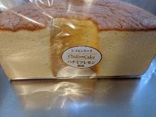 シフォンケーキ ハチミツレモン風味