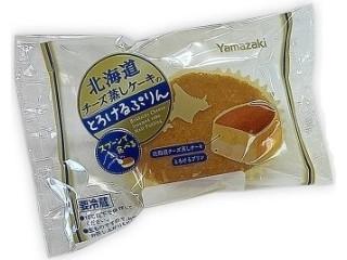 ヤマザキ 北海道チーズ蒸しケーキのとろけるプリン