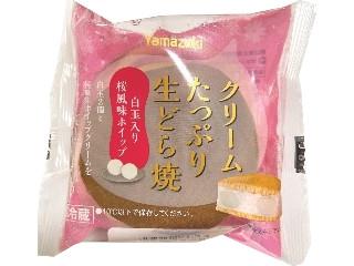 クリームたっぷり生どら焼 白玉入り桜風味ホイップ