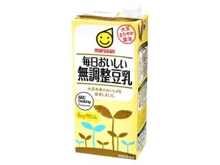 毎日おいしい 無調整豆乳