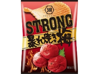 STRONG ポテトチップス 暴れ焼き梅