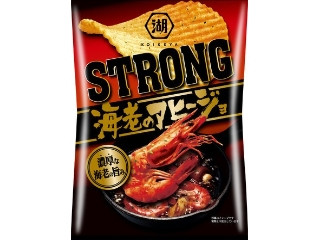 KOIKEYA STRONG ポテトチップス 海老のアヒージョ