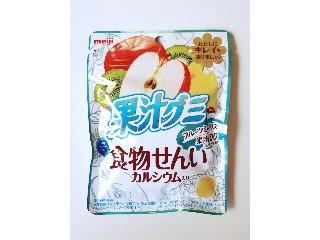 果汁グミ フルーツミックス果汁100 食物せんいカルシウム入り