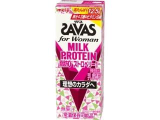 for Woman MILK PROTEIN 脂肪0 ストロベリー風味