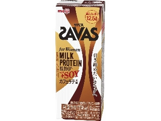for Woman MILK PROTEIN 脂肪0 +SOY カフェラテ風味