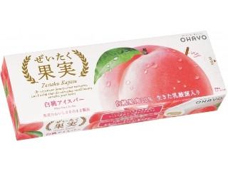 ぜいたく果実 白桃アイスバー