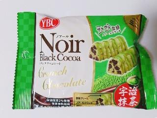 YBC ノアール クランチチョコレート ミニ 宇治抹茶 32g
