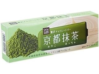 ローソン「Uchi Cafe' SWEETS 贅沢チョコレートバー 京都抹茶」