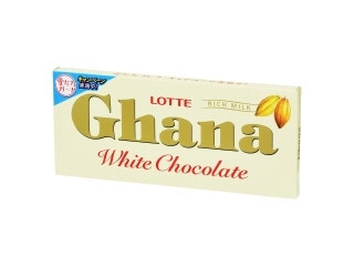 ガーナ ホワイトチョコレート