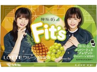 Fit's 欅坂46ガム 鳳梨×白葡萄