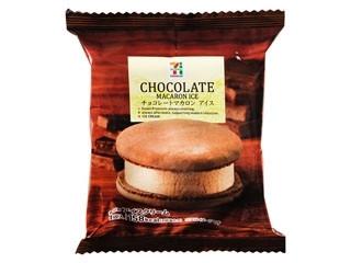 チョコレートマカロン アイス