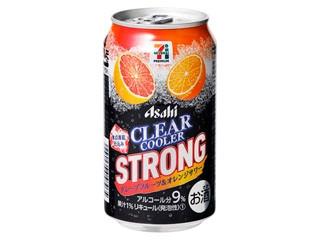クリアクーラー ストロング グレープフルーツ&オレンジサワー