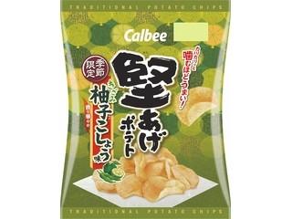 堅あげポテト きざみ柚子こしょう味