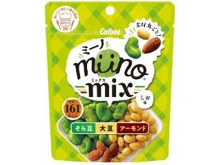 miino mix そら豆大豆アーモンドしお味