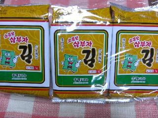 韓国味付のり
