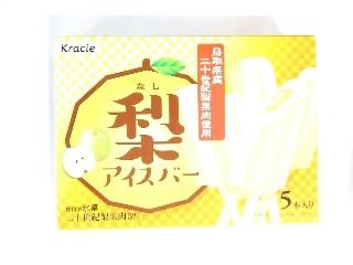 梨アイスバー 鳥取県産二十世紀梨果肉使用