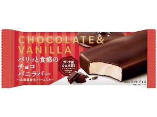 フタバ パリッと食感のチョコバニラバー