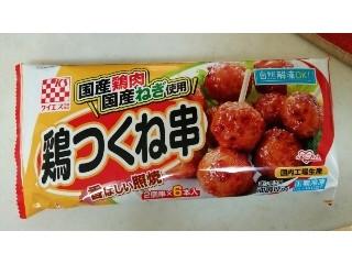 国産鶏肉 鶏つくね串 香ばしい照焼6本入り