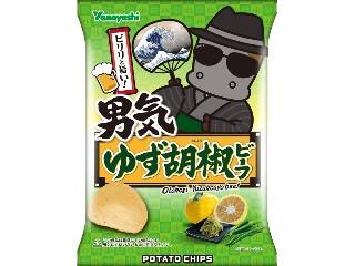 ポテトチップス 男気ゆず胡椒ビーフ