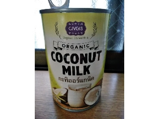 オーガニック ココナッツミルク