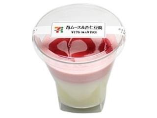セブンイレブン「苺ムース&杏仁豆腐」