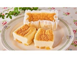 ローソンストア100 たっぷりりんごのスフレチーズケーキ
